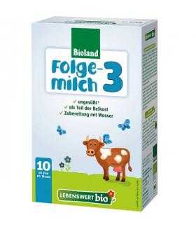 Lebenswert Stage 3 Organic (Bio) Baby Milk Formula (475g) 10m+ (6 boxes)